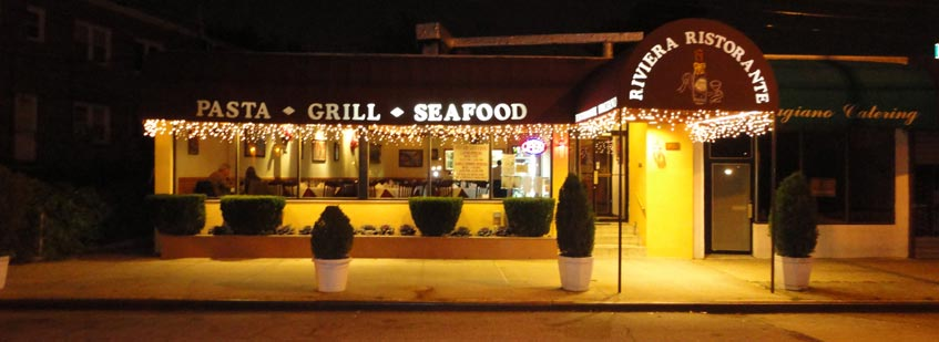 Nestled In The Heart Of Whitestone Queens Riviera Ristorante Features An Authentic Mix Both Southern And Nothern Italian Cuisine